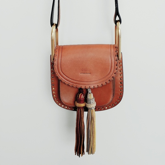 96394ca80a2d0 Chloe Bags | Calfskin Mini Hudson Tassel Crossbody Bag | Poshmark